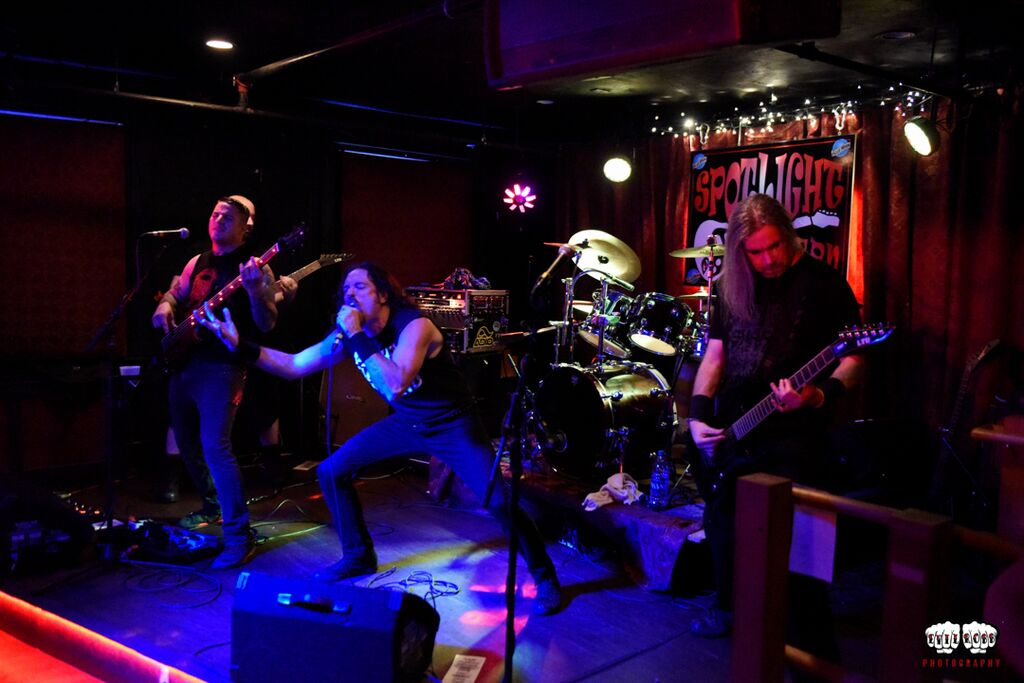 Swarm of Eyes, live at the Spotlight Tavern in Beverly, MA. (Photo courtesy